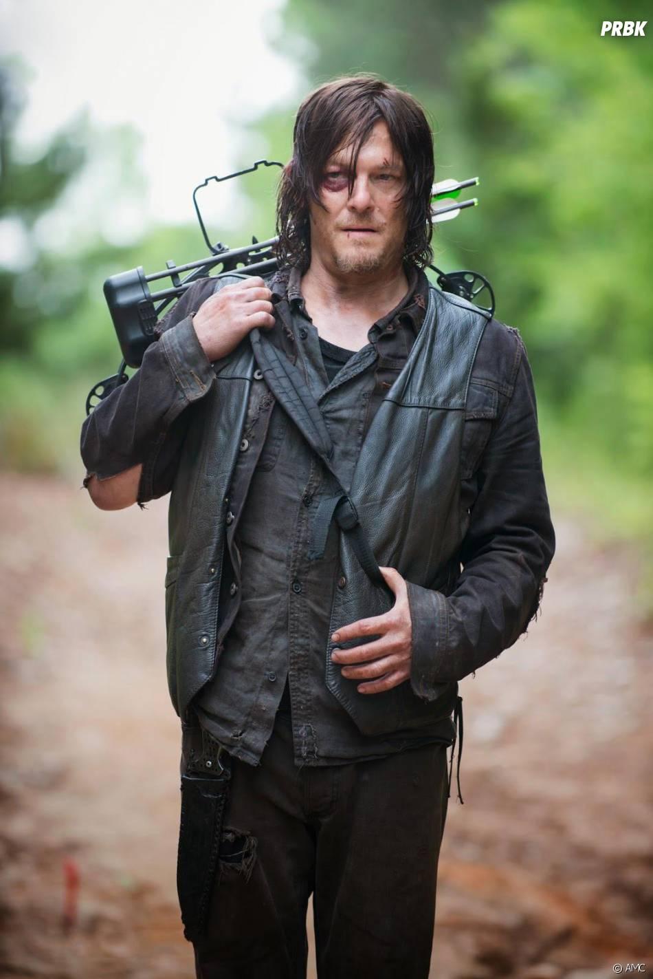 The Walking Dead saison 5 : Daryl sur une photo