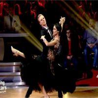 Leila Ben Khalifa glamour pour un hommage à Edith Piaf dans Danse avec les Stars