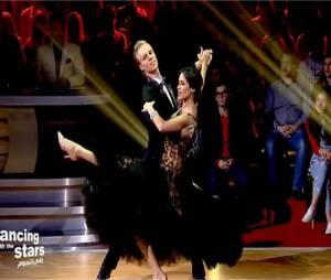 Leila Ben Khalifa (Danse avec les stars Liban) : un foxtrott sur La Vie en Rose d'Edith Piaf