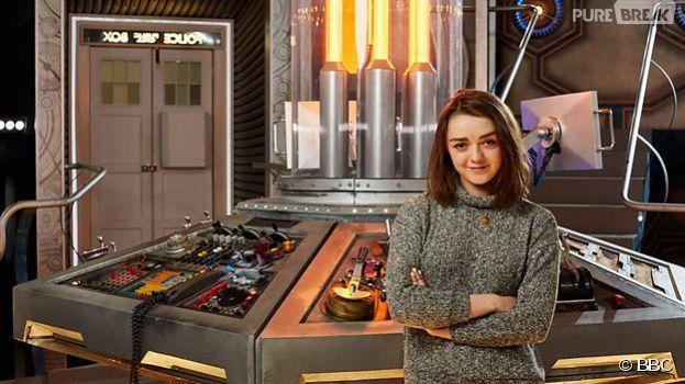 Doctor Who saison 9 : Maisie Williams (Arya - Game of Thrones) au casting