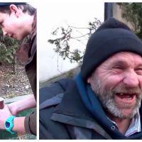 Hallucinant : il vole le café d'un SDF, mais c'est pour le rendre vraiment très heureux