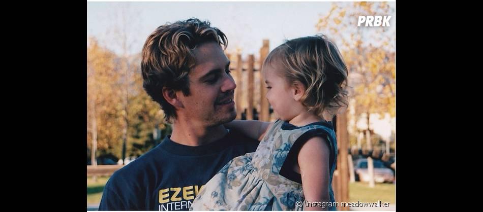 Paul Walker avec sa fille Meadow