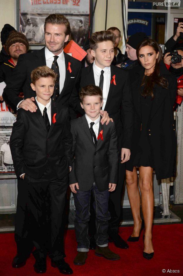 David Beckham : le premier rendez-vous de son fils Brookyn ? Il s'y est incrusté