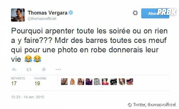 Thomas Vergara : un tweet clash sur Twitter