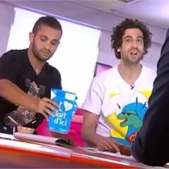 Malik Bentalha et Max Boublil en pyjamas : petit déjeuner en direct sur France 2 !