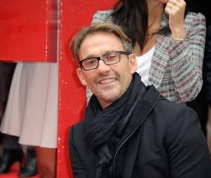 Julien Courbet à la conférence de presse annuelle de RTL, le 4 septembre 2014
