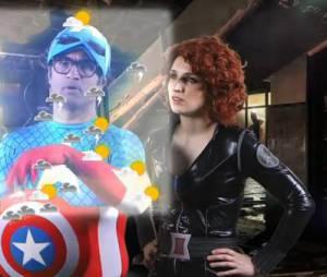 Alison Wheeler : une météo décalée spécial Avengers, le 22 avril 2015, sur Canal +