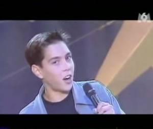 Grégory Lemarchal dans Graines de star en 1999