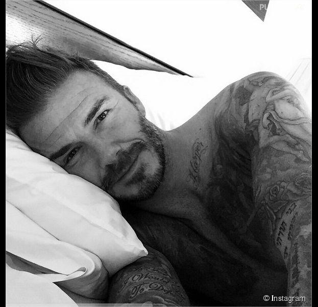 David Beckham rejoint Instagram pour ses 40 ans avec une photo sexy