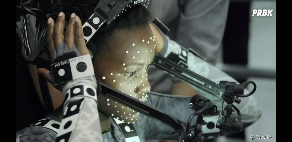 Star Wars 7 : Lupita Nyong'o durant le shooting du magazine Vanity Fair