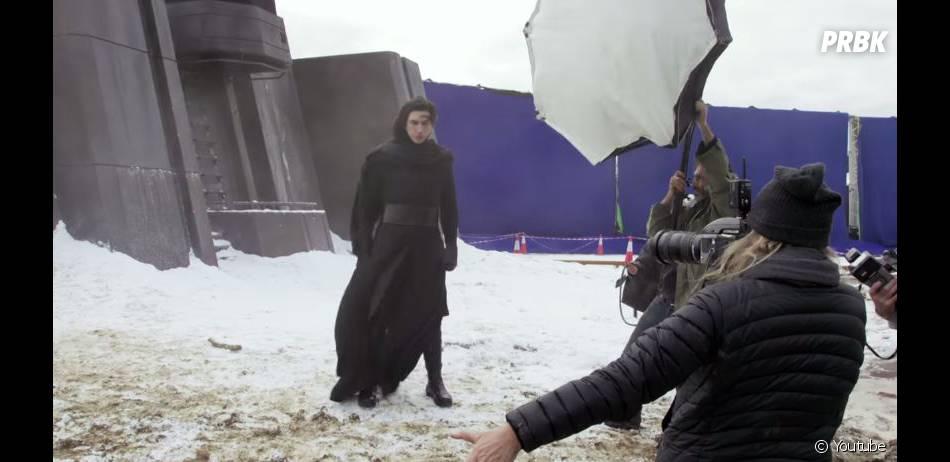 Star Wars 7 : Adam Driver durant le shooting du magazine Vanity Fair