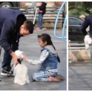 Expérience sociale choquante : des parents laissent un inconnu kidnapper leur enfant sous leurs yeux