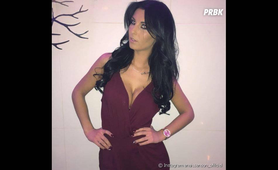 Anaïs Sanson (Les Anges 7) sexy et décolletée sur Instagram
