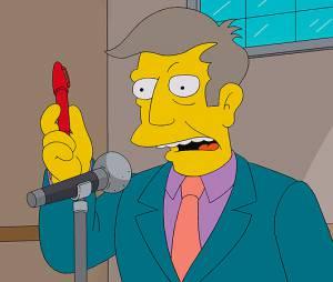 Les Simpson : Skinner perd sa voix