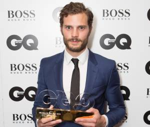 Jamie Dornan aux GQ Men of the Year Awards, le 2 septembre 2014 à Londres
