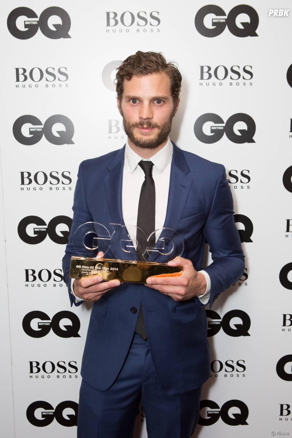 Jamie Dornan aux GQ Men of the Year Awards, le 2 septembre 2014 à Londres