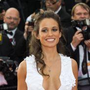 Lucie Lucas très décolletée à Cannes 2015 : la star de Clem rayonnante sur le tapis rouge