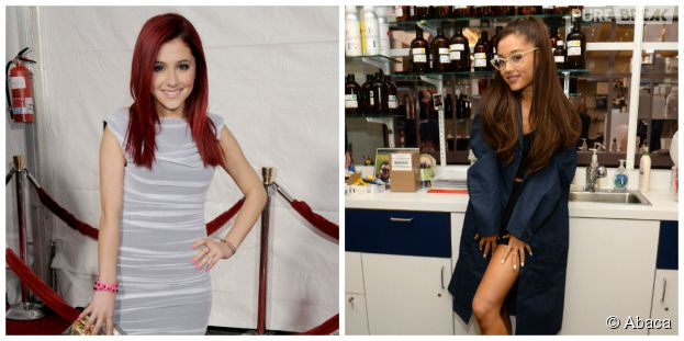 Ariana Grande : avant/après