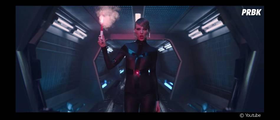 Taylor Swift sur une image extrait de son clip 'Bad Blood'