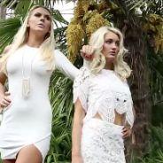 Aurélie Dotremont et Amélie Neten en bikinis pour un shooting sexy et complice