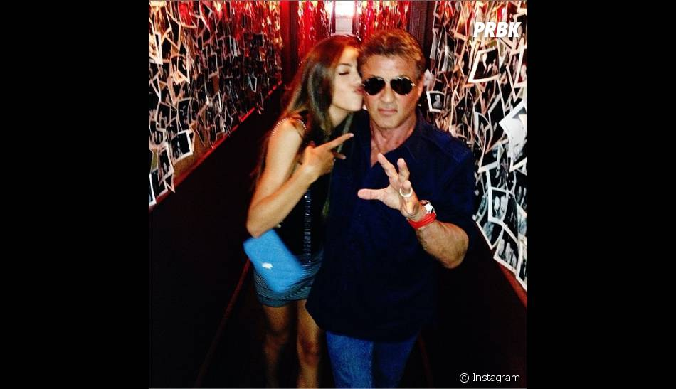 Sistine Stallone et Sylvester Stallone complices sur Instagram
