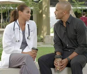 Esprits Criminels saison 9 : Morgan et Savannah sur une photo