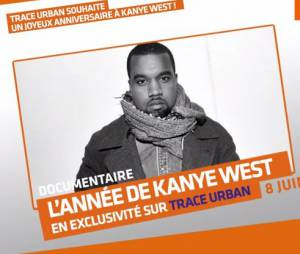 Kanye West fête ses 38 ans : une journée spéciale sur Trace Urban