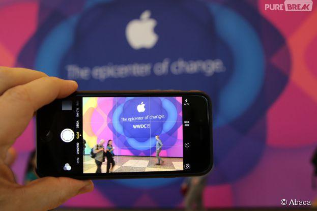 Apple a donné le coup d'envoi du salonWorldwide Developers Conference (WWDC), le 8 juin 2015
