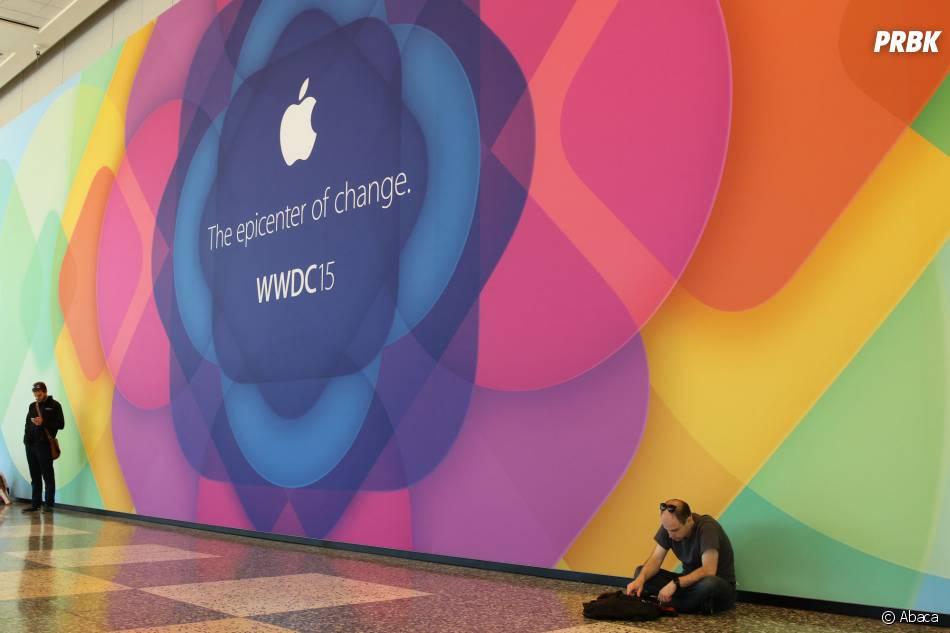 Le coup d'envoi du salonWorldwide Developers Conference (WWDC) a été donné, le 8 juin 2015