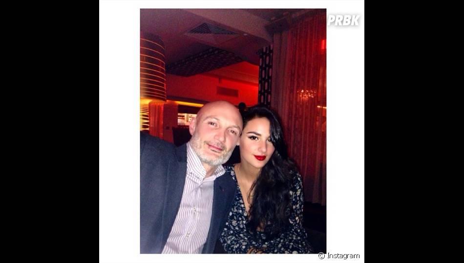 Jade Leboeuf et son père Frank Leboeuf sur Instagram