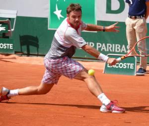 Stan Wawrinka : son short à carreaux Yonex, porté lors de sa victoire face à Djokovic à Roland Garros 2015, est en rupture de stock