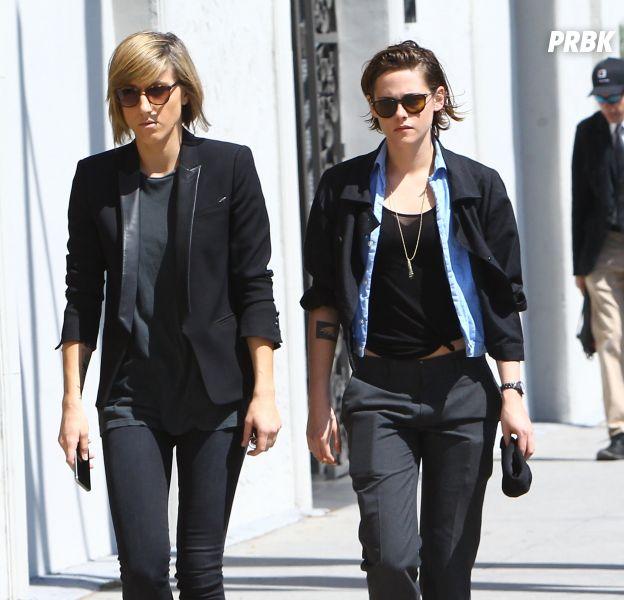 Kristen Stewart et Alicia Cargile à Los Angeles, le 28 mars 2015