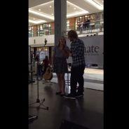 Ed Sheeran généreux : concert improvisé avec une fan dans un centre commercial canadien