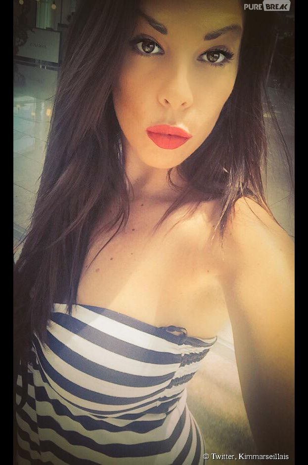 Kim Glow : selfie en Espagne, le 18 juin 2015