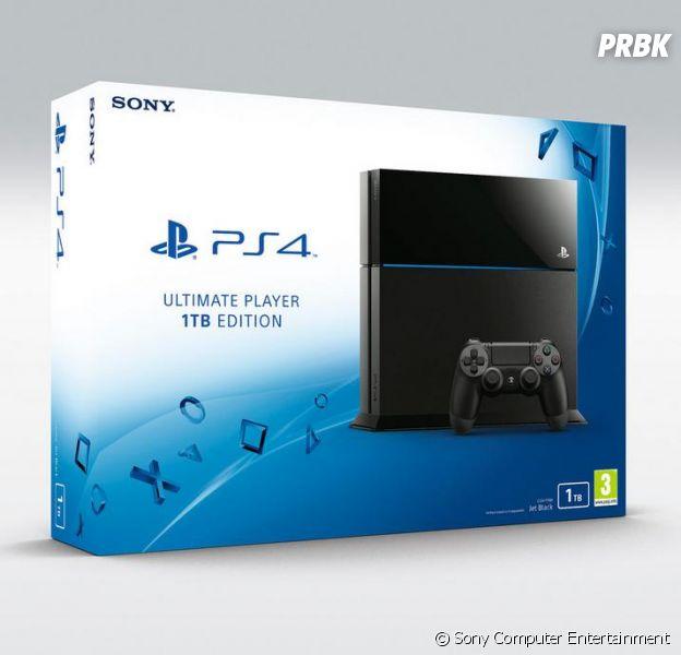 PS4 : un modèle avec un disque dur de 1To bientôt commercialisé