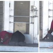 Caméra cachée : il demande de l'argent et à manger à des sans-abri, leurs réactions sont touchantes