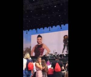 Katy Perry huée par les fans de Taylor Swift, le 27 juin 2015 à Londres