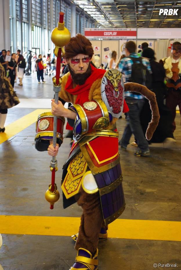Un cosplayer de League of Legends au salon Japan Expo, le 5 juillet 2015