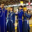Des cosplayers de Full Metal Alchimist au salon Japan Expo, le 5 juillet 2015