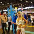 Une cosplayeuse au salon Japan Expo, le 5 juillet 2015