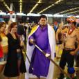Des cosplayers de One Piece au salon Japan Expo, le 5 juillet 2015