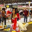 Une cosplayeuse de League of Legends au salon Japan Expo, le 5 juillet 2015