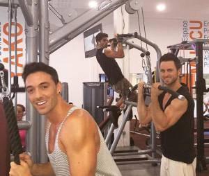 Danse avec les Stars : Christophe Licata, Maxime Dereymez et Christian Millette s'entrainent dans les coulisses de la tournée d'été de TF1