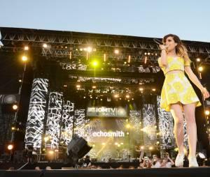 Les frères et soeur d'Echosmith ont proposé un show frais au doux son de leur indie-pop