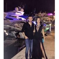 Leila Ben Khalifa sexy et décolletée au côté d'Aymeric Bonnery sur Instagram
