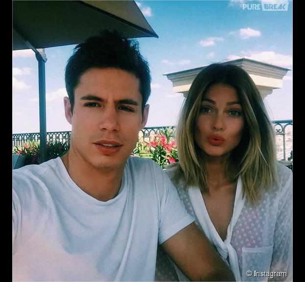 Caroline Receveur et son petit ami Valentin : exit Londres, ils s'offrent un week-end à Paris en amoureux