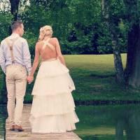 """Laura (Qui est la taupe) a dit """"oui"""" à son compagnon Bastien : photo de mariage sur Instagram"""