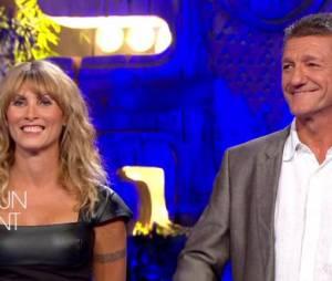 Koh Lanta 2015 : Chantal et Bruno lors de la finale, le 24 juillet sur TF1