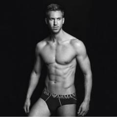 Calvin Harris torse nu et très sexy : le petit-ami de Taylor Swift en sous-vêtements pour Armani