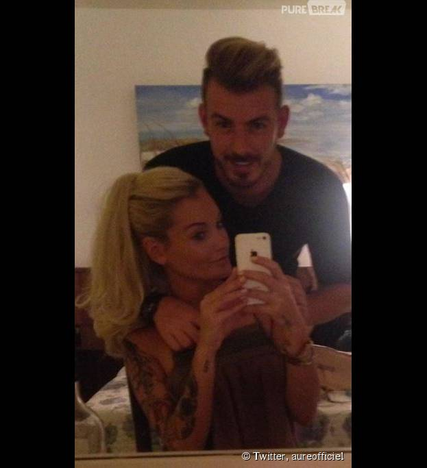 Aurélie Dotremont et Julien Bert fêtent leur un an sur Twitter